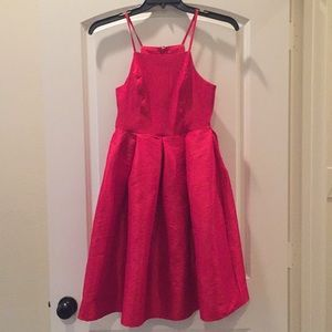 Gianni Bini red cocktail dress size S